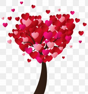 Valentine's Day Heart Tree PNG Clip-Art Image - Heart Valentine's Day Clip Art PNG