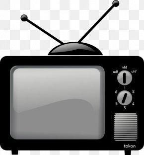 Old Tv Image - Television Clip Art PNG