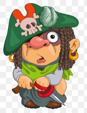 Pirates Put Pants - Cartoon Piracy Drawing Illustration PNG