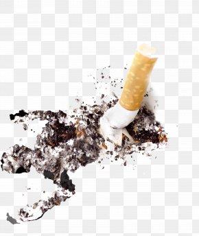 Cigarette - Cigarette Ash Icon PNG