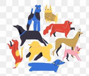 Various Dog - Dog Illustrator Graphic Design Illustration PNG