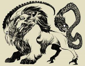 Chimera - Goat Dungeons & Dragons Lion Pathfinder Roleplaying Game PNG