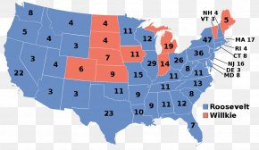 Map - United States Of America United States Presidential Election, 2008 US Presidential Election 2016 United States Presidential Election, 1952 Cartogram PNG