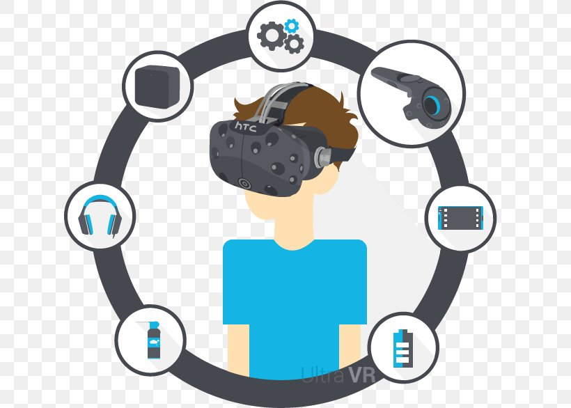 HTC Vive Samsung Gear VR PlayStation VR Oculus Rift Clip Art, PNG, 636x586px, Htc Vive, Communication, Htc, Human Behavior, Logo Download Free