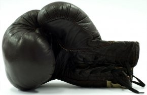 Boxing Gloves - Boxing Glove Punch Golden Gloves PNG