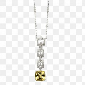 Yellow Pearl Necklace - Bronzallure Morganite Pendant Necklace Jewellery Gold PNG