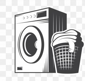 Cleaning Washing Machine - Cleaning Clip Art PNG