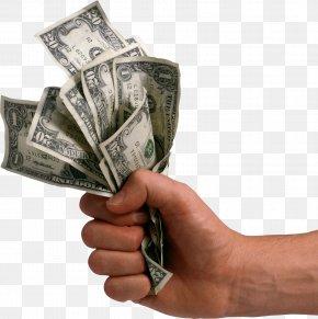 Money Dollars In Hand Image - Money Clip Art PNG