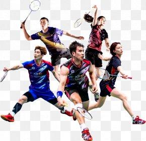 Badminton - Badminton Team Sport Racket PNG