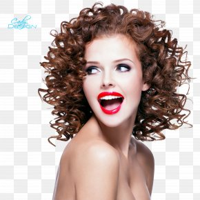 Long Curly Hair - Hairstyle Waves Bob Cut Hair Permanents & Straighteners PNG