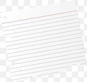 A Loose Sheet Of Paper Torn By Hand - Document Text White Pattern PNG