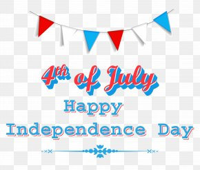 Happy Independence Day 4th Of July Clipart - Independence Day Clip Art PNG
