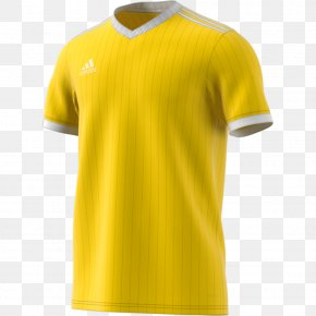 T-shirt - T-shirt Adidas Jersey Sleeve Polo Shirt PNG