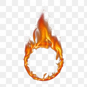 Red Ring Of Fire - Fire Flame PNG