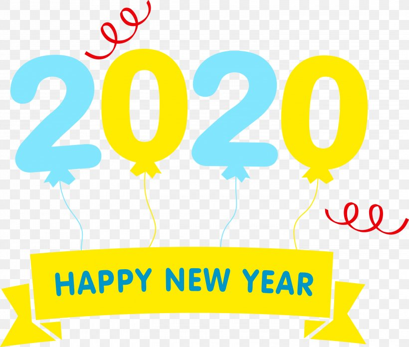 Happy New Year 2020 Happy 2020 2020, PNG, 3000x2548px, 2020, Happy New Year 2020, Happy 2020, Logo, Text Download Free