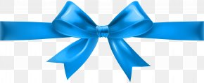 Blue Bow Transparent Clip Art - Pink Clip Art PNG