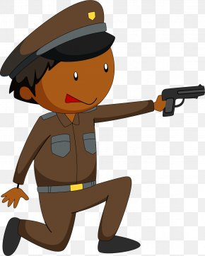 Shot Cop - Police Officer Royalty-free Clip Art PNG