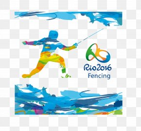 Rio Olympics Material - 2016 Summer Olympics 2012 Summer Olympics Rio De Janeiro Fencing At The Summer Olympics PNG