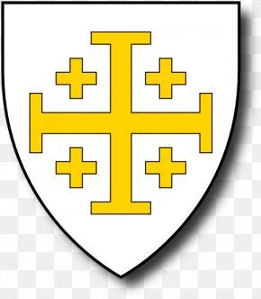 Jerusalem Cliparts - Kingdom Of Jerusalem Crusader States King Of Jerusalem Coat Of Arms PNG