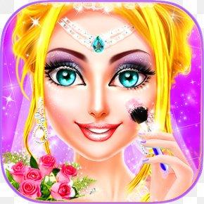 Makeup & Dress Up Ice PrincessWedding Day Android GameAndroid - MakeUp Salon Princess Wedding PNG
