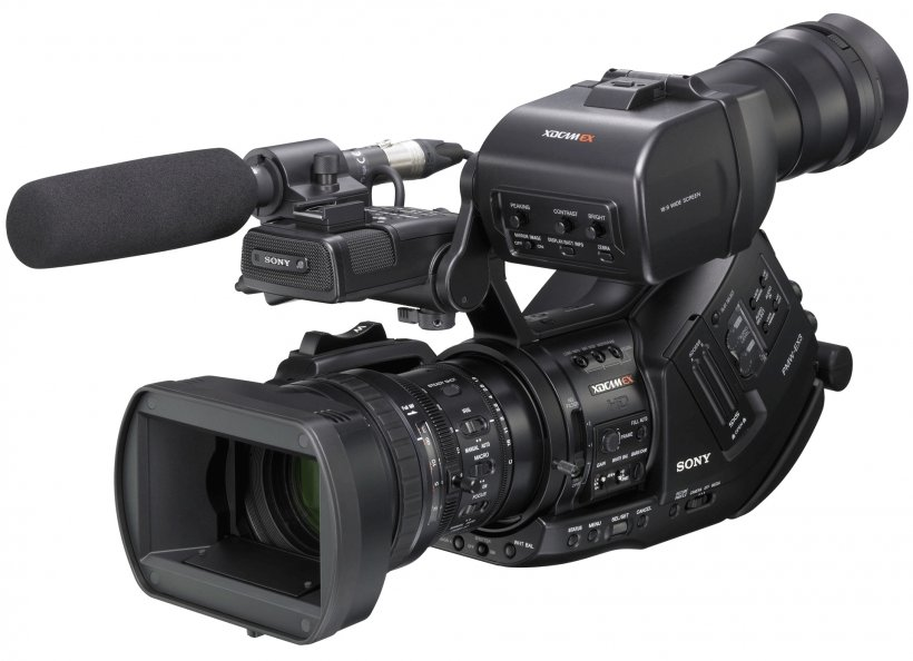 Video Camera Sony PMW-EX1 XDCAM, PNG, 1920x1393px, Video Cameras, Camera, Camera Accessory, Camera Lens, Camera Operator Download Free