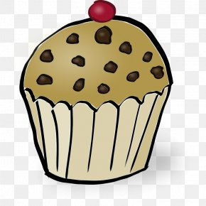 Chocolate Chip Images - Muffin Cupcake Bakery Chocolate Chip Cookie Madeleine PNG