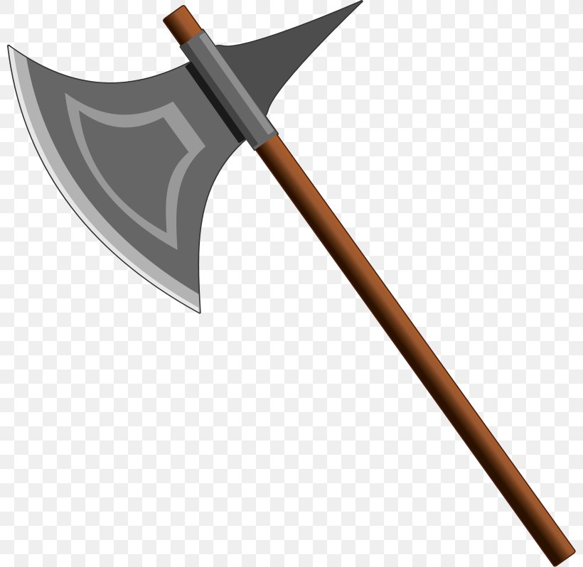 Weapon Battle Axe Knife Clip Art, PNG, 800x798px, Weapon, Axe, Battle Axe, Dane Axe, Firearm Download Free