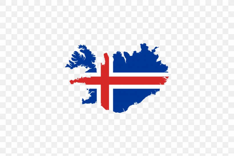 Flag Of Iceland Vector Map Icelandic, PNG, 1024x686px ...