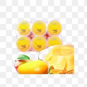 Mango Jelly - Gelatin Dessert Grass Jelly Gummi Candy Fruit Mango PNG