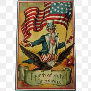 Independence Day - Independence Day United States Saturday Evening Post Post Cards Clip Art PNG