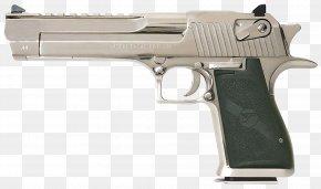 Handgun - Trigger Firearm Gun Barrel .50 Action Express IMI Desert Eagle PNG