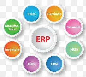 Business - Enterprise Resource Planning Business Computer Software Organization Customer Relationship Management PNG