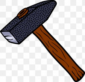 Simple Hand-painted Hammer - Hammer Tool Drawing PNG