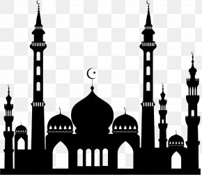 Islam Pic - Sultan Ahmed Mosque Islam Silhouette Clip Art PNG