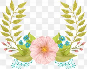 Watercolor Painting Logo Clip Art Design Image PNG