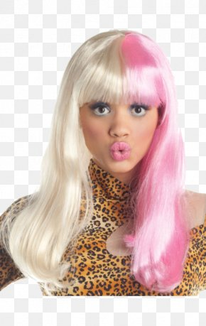 Barbie - Blond Wig Pink Costume Barbie PNG