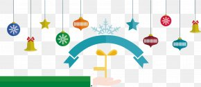 New Year Ornaments To Pull The Flag - Christmas Euclidean Vector New Year PNG