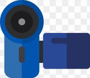 Cartoon Digital Camera - Digital Data Video Camera Icon PNG