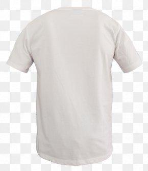 White Shirt - T-shirt Adidas Sleeve Crew Neck PNG