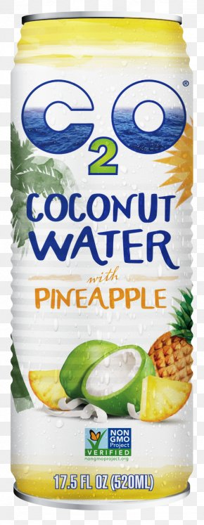 C2o Coconut Water Ingredients - C2O Pure Coconut Water Smoothie Juice Jarritos PNG