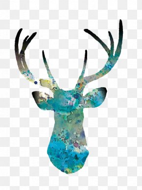 Deer - Deer Art Printmaking Drawing Painting PNG