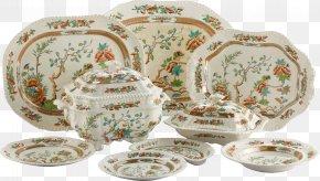 Beautiful Pattern Printing Plate Kettle - Tableware Plate Vase Clip Art PNG