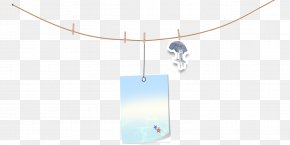Hanging On A Rope Picture Card - Turquoise Brand Glass Pattern PNG