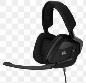 Corsair Components - Corsair VOID PRO RGB 7.1 Surround Sound Headphones Dolby Headphone PNG