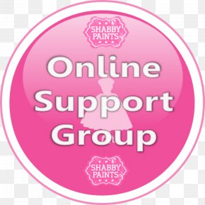 Support Group - Logo Brand Font Pink M Product PNG