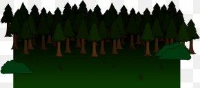 Forest Clipart - Tiny Metal Dancing Forest Clip Art PNG