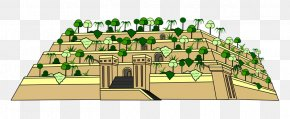 Seven Wonders Of The Ancient World - Hanging Gardens Of Babylon Seven Wonders Of The Ancient World Clip Art PNG