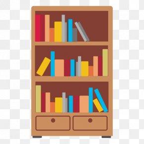Shelf - Bookcase Shelf Furniture PNG