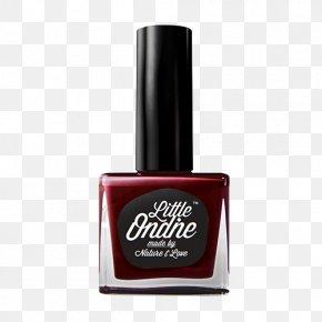 Red Nail Polish - Nail Polish Lip Balm Glitter Cosmetics PNG