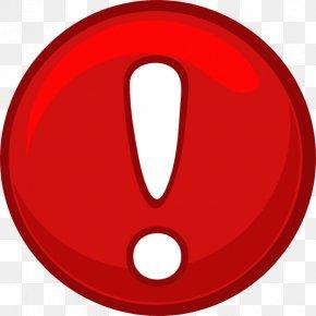 Alert Icon Red Alert Round Icon Clip Art - Clip Art PNG